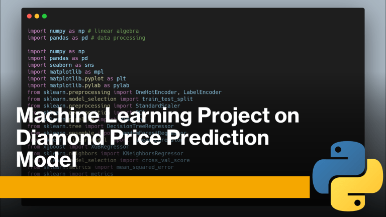 Diamond Price Prediction with Machine Learning