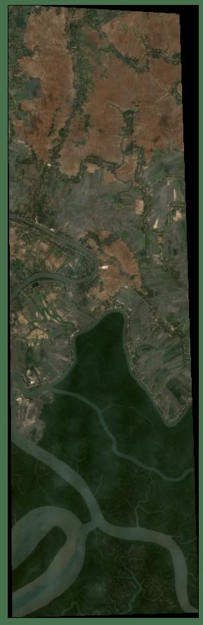 RGB satellite images