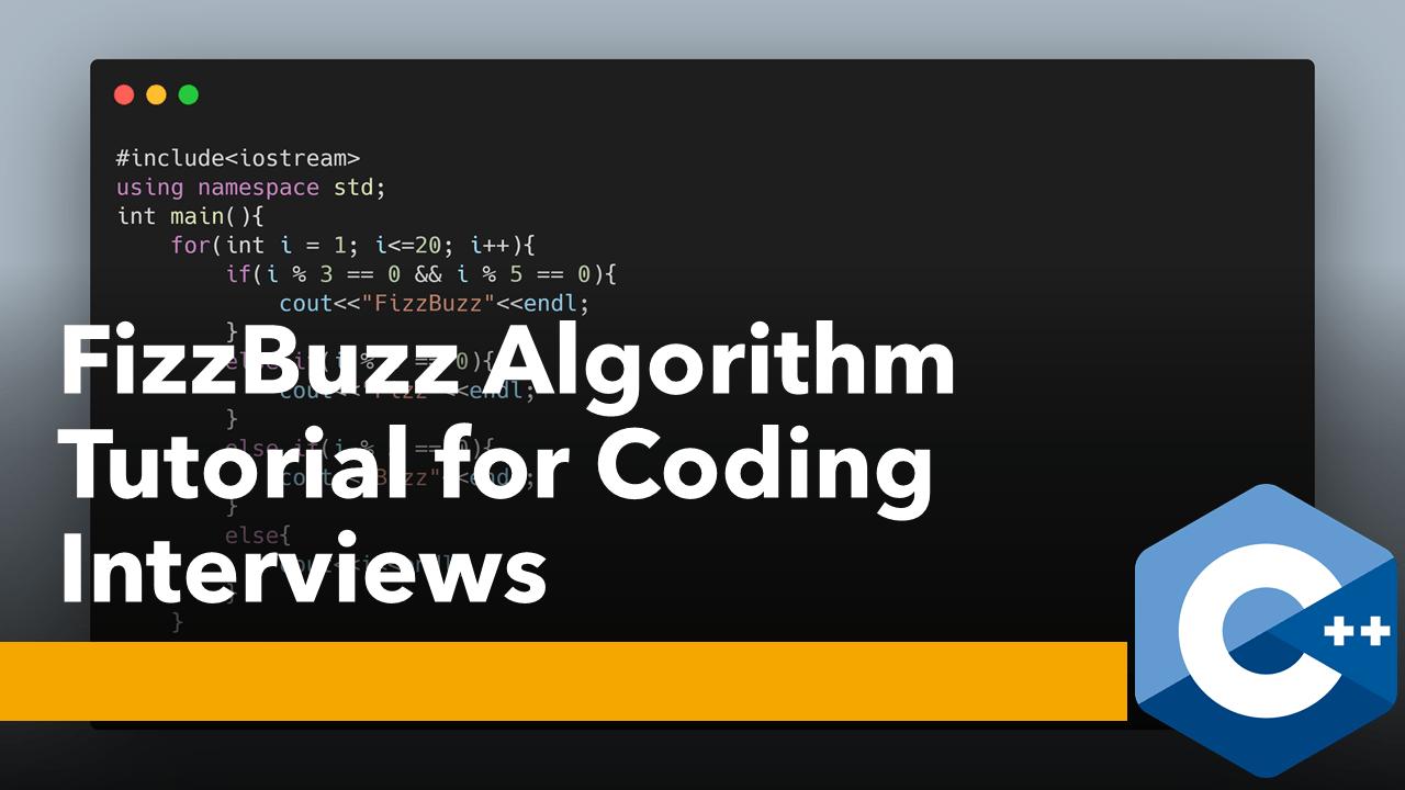 FizzBuzz Algorithm using C++ and Python