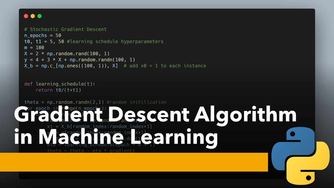 Gradient Descent in Machine Learning