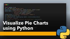Pie Charts using Python