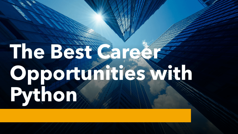 Career Opportunities with Python
