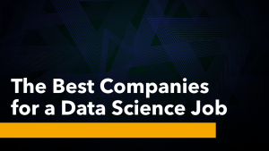 Best Companies for a Data Science Job