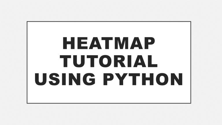 Heatmap using Python (Tutorial)