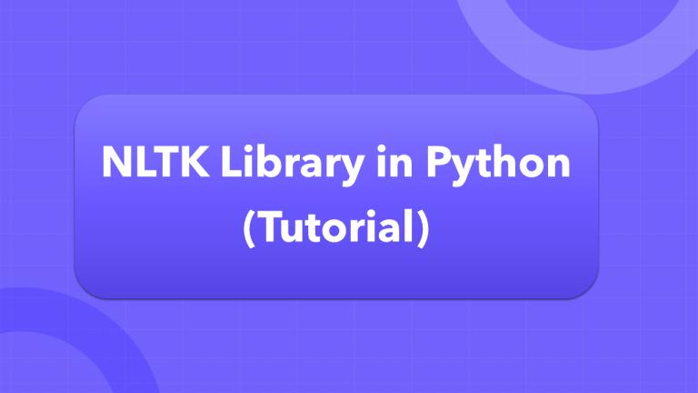 NLTK Tutorial using Python
