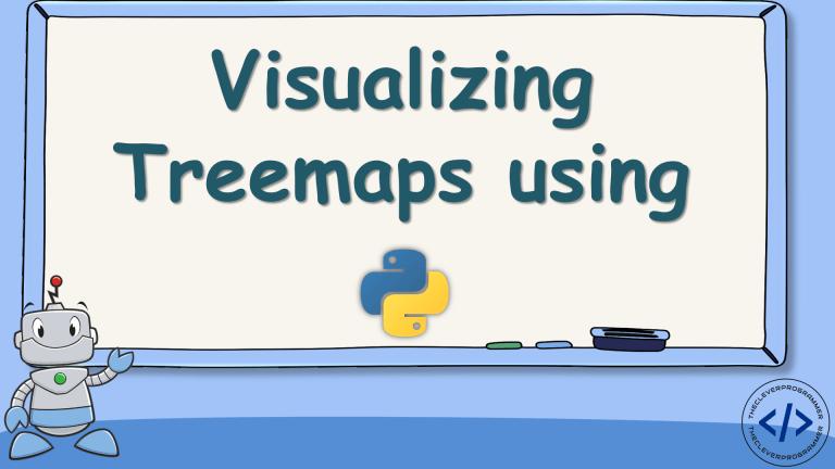 Treemap using Python