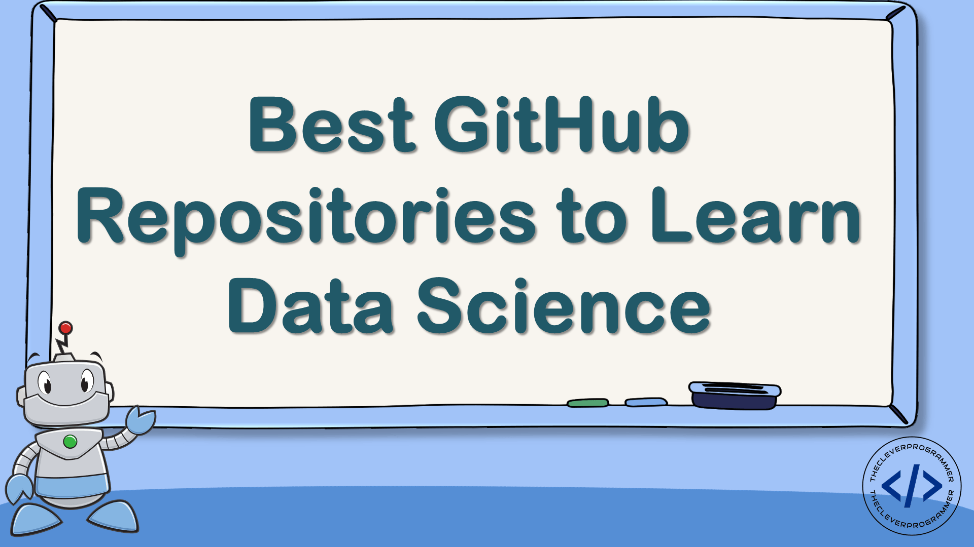 GitHub Repositories to Learn Data Science