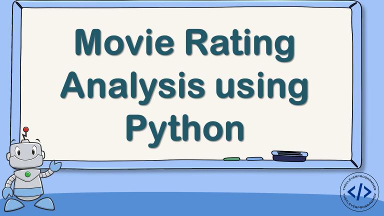 Movie Rating Analysis using Python