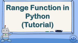 Range Function in Python
