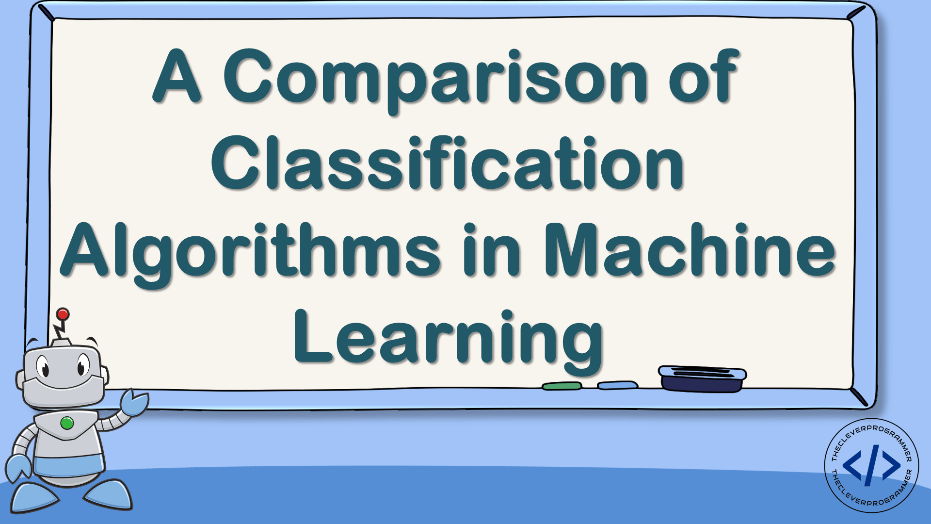 Comparison of Classification Algorithms in Machine Learning