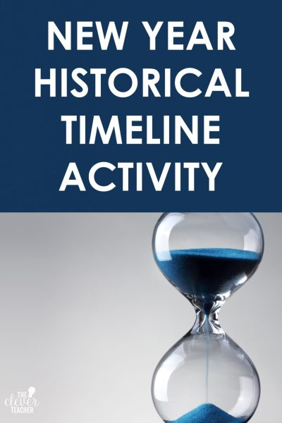 New Year Historical Timeline Activity