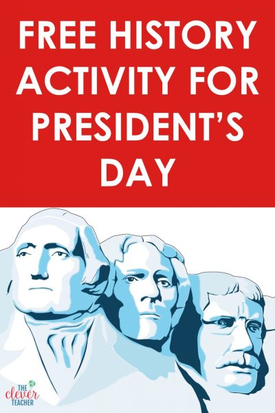 Free History Activity for Presidents Day