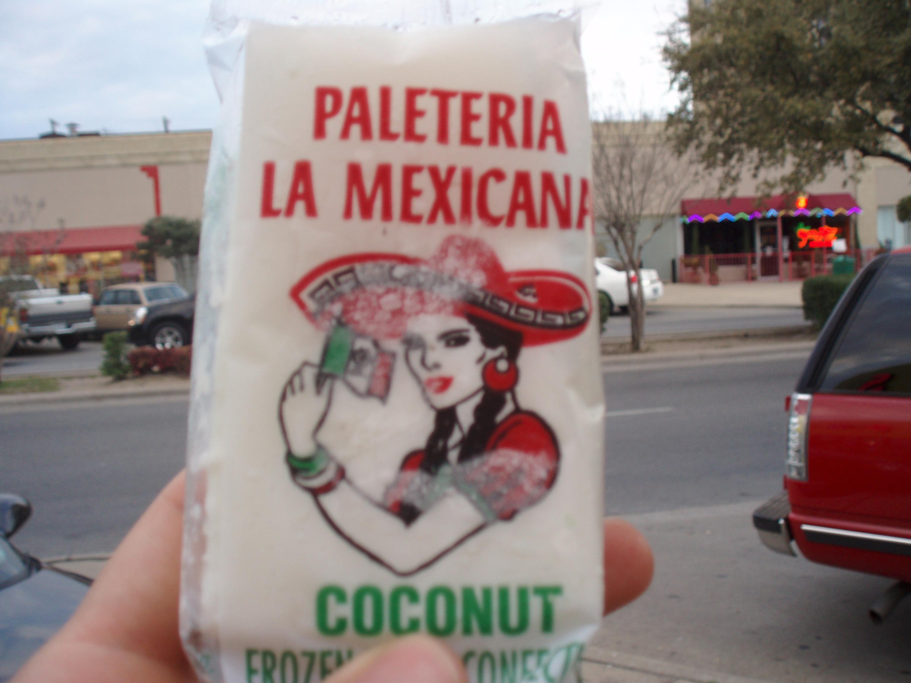 Coconut Paleta