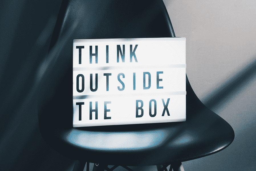 Lightbox with a text