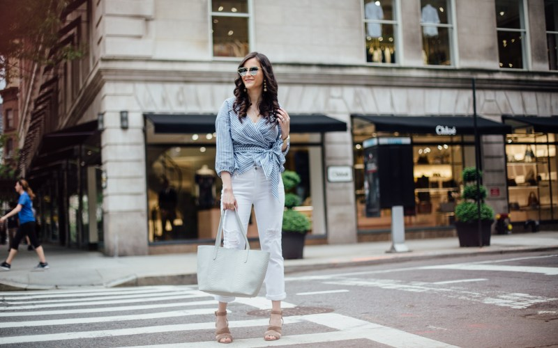Summer Style with Neutral Accessories