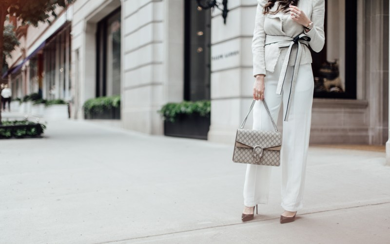 How to Wear Wide Leg Pants to the Office