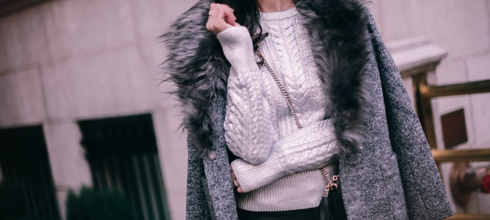How to Wear Metallics for the New Year