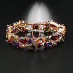 Multi Color Zircon Bracelet