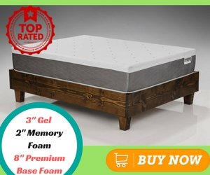 Best Memory Foam Mattress Dreamfoam Ultimate Dreams 13 Inch