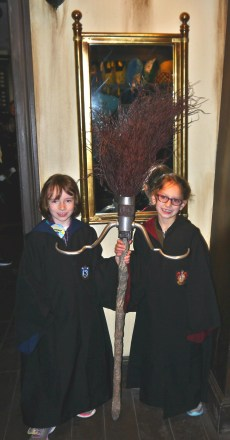 My little Ravenclaw and Griffindor.