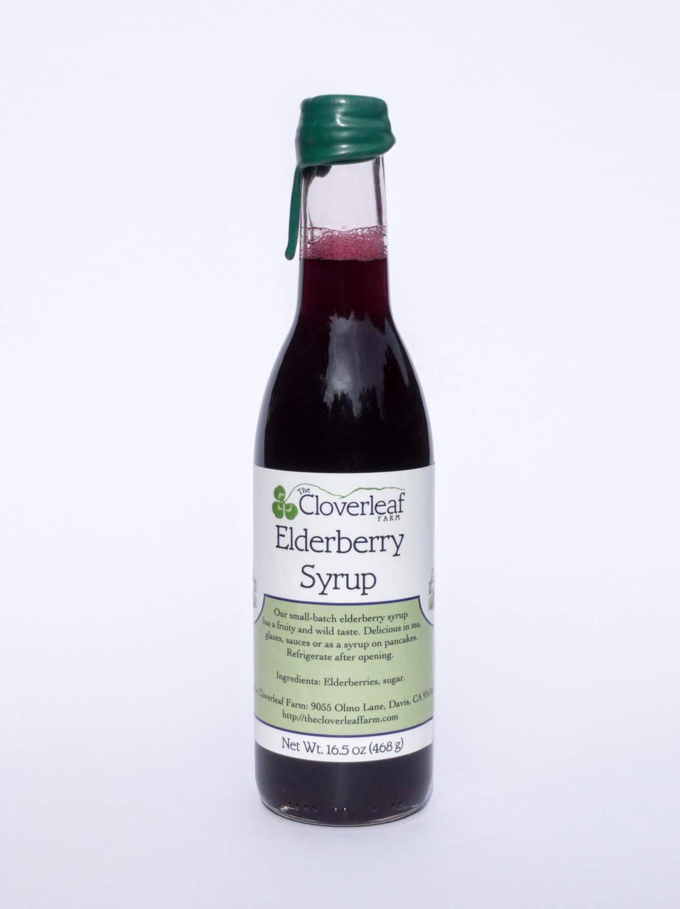 elderberry syrup. 16.5 oz
