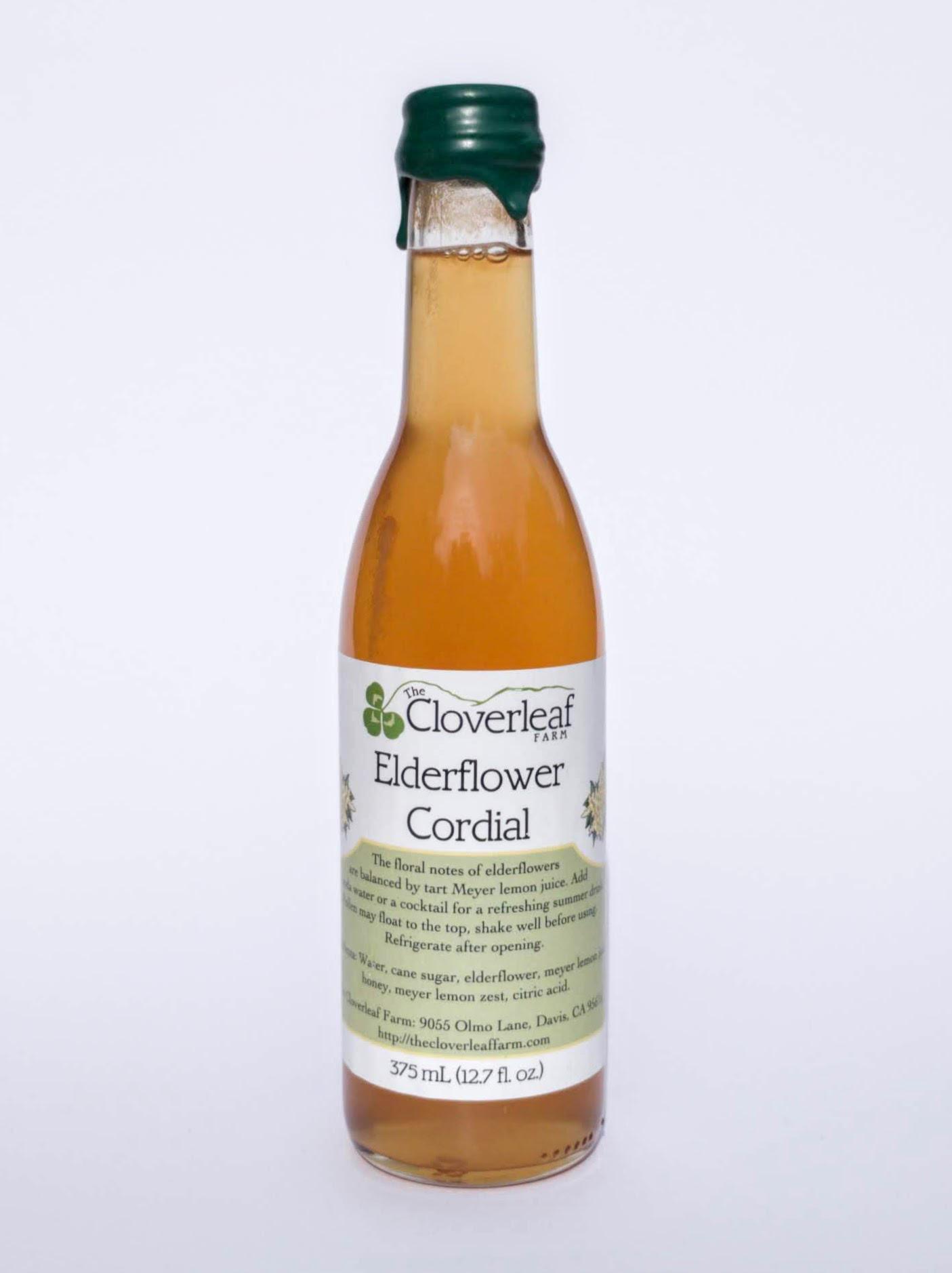 elderflower cordial. 12.7 fl oz