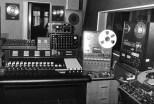A recording studio in the 50s