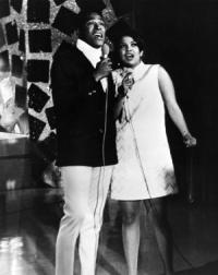 Photo of Tammi TERRELL and Marvin GAYE