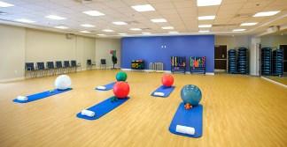 aerobics room