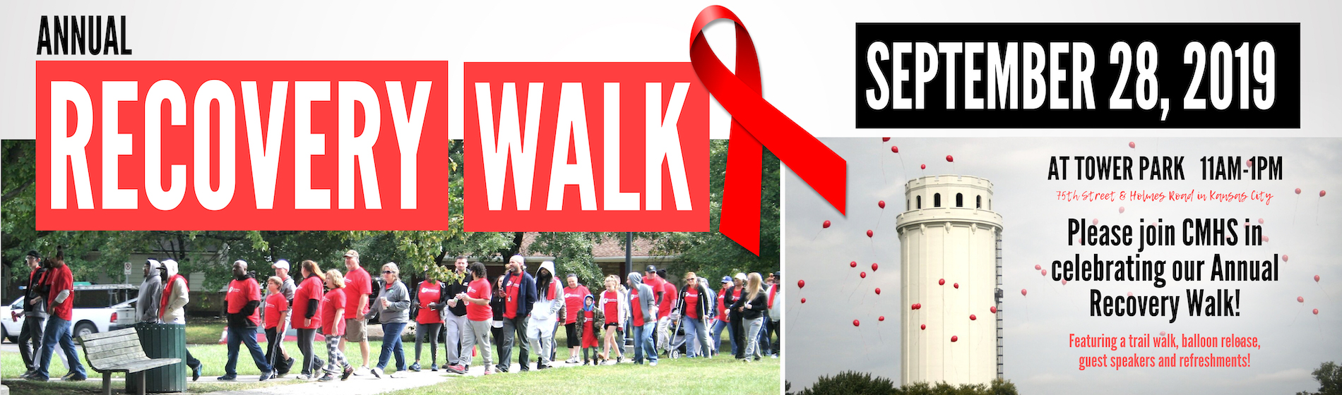 CMHS Recovery Walk