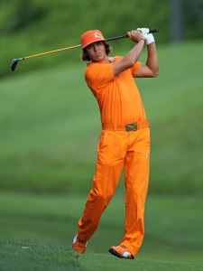DUBLIN, OH - JUNE 06:  Rickie Fowler is pictured  during the final round of The Memorial Tournament presented by Morgan Stanley at Muirfield Village Golf Club on June 6, 2010 in Dublin, Ohio.  (Photo by Andy Lyons/Getty Images)