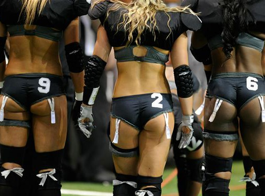 Why Playing In the Lingerie Football League Would Actually be Awesome