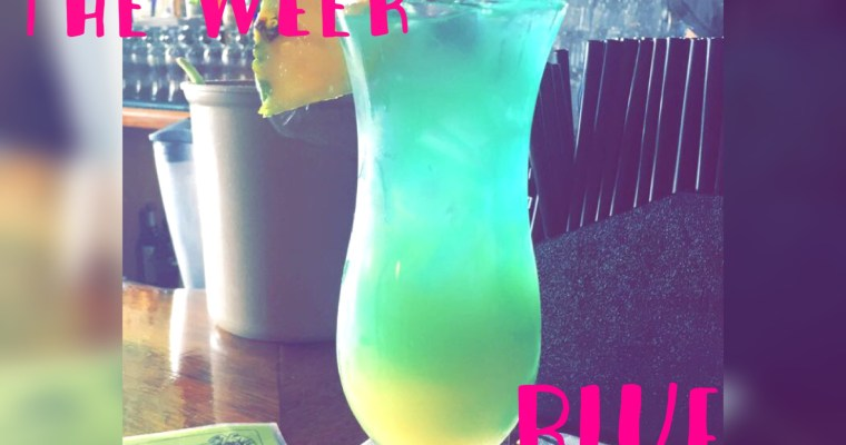 Drink of the Week! Blue Hawaiian