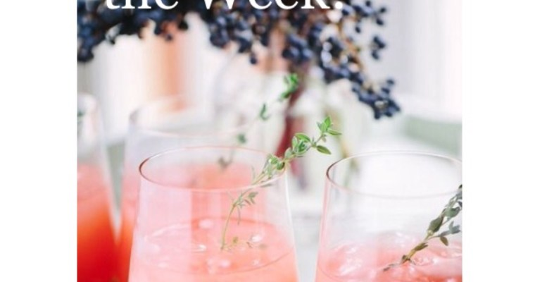 Drink of the Week! Thyme Greyhound