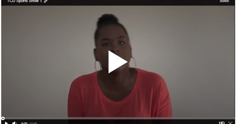 TCD Video Podcast – Take 1!