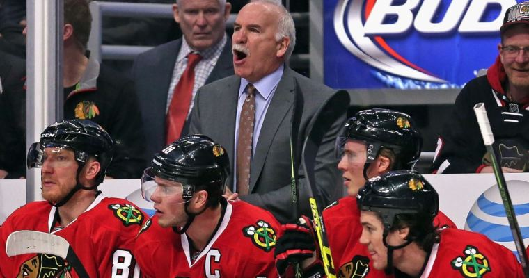 Blackhawks without Quenneville feels wrong