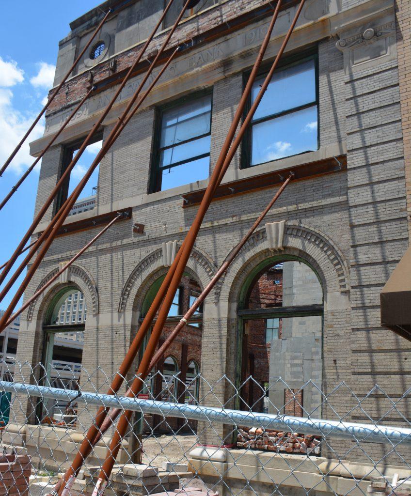 Cowford Chophouse under construction, Jacksonville, FL