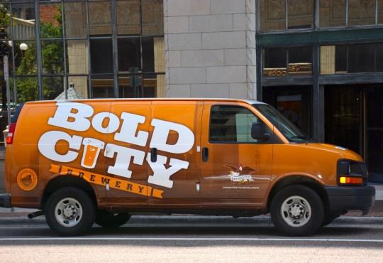 Bold City Brewery bus, Jacksonville, FL