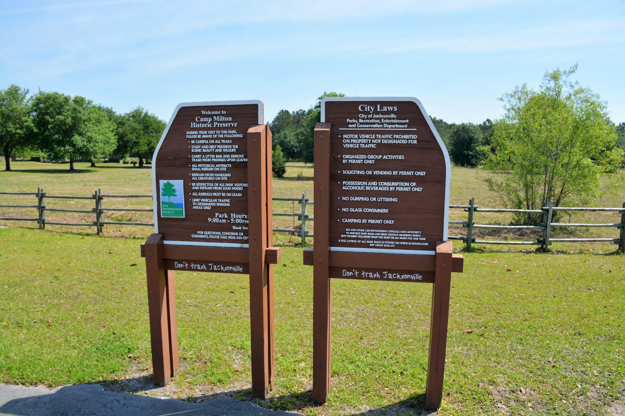 Camp Milton Historic Preserve, Jacksonville, FL