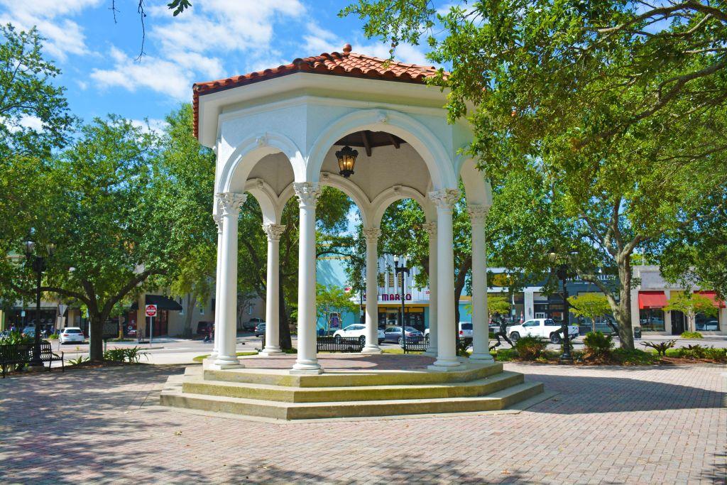 San Marco Square gazebo, Balis Park, Jacksonville, FL