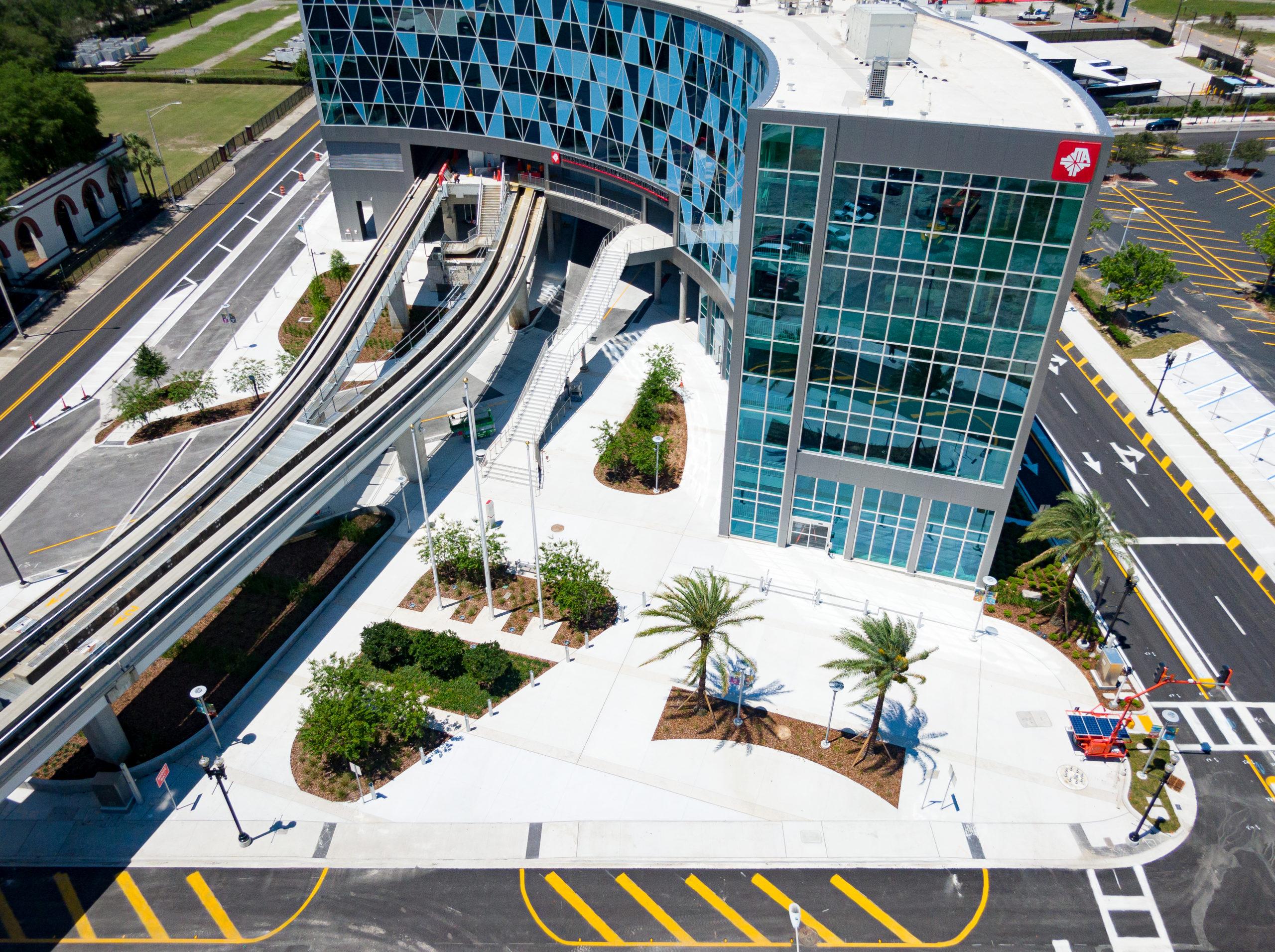 Jacksonville Regional Transportation Center at LaVilla, Jacksonville, FL
