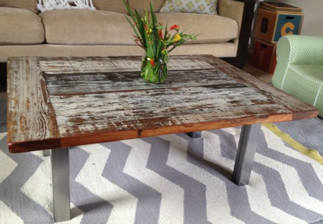 Reclaimed Cypress Coffee Tabe 2