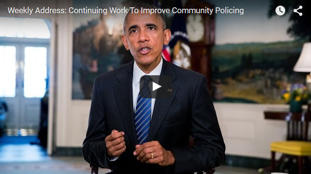 Presidential Weekly Address: Continuing Work to Improve Community Policing