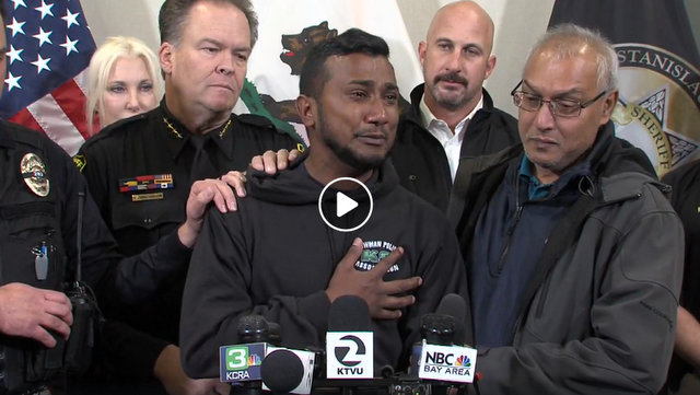 Press Conference after Capture of Suspect in Killing of Newman Police Officer Ronil Singh