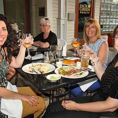 At Sea Grass in Ocean Grove were Lauri Brown, Toms River; Lori Lindquist, Edison and Lisa DeChirico of Farmingdale Sat., June 15.