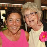 Kay Worrell, Ocean Grove & Mary Alice Smith, Seabrook Village - We go to Days to have good ice cream. We take walks by the ocean. Kay puts her feet in the water. Mary's too old to put her feet in the water. Mary walks her dog, Jack, to keep cool.