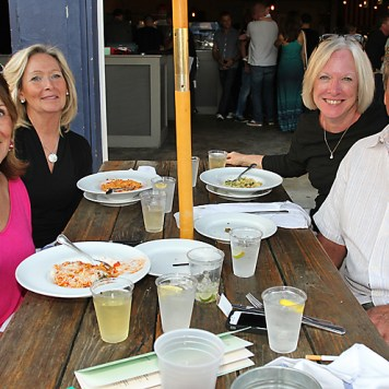 At Porta on Kingsley Street in Asbury Park were Linda Cirillo, Bergen County; Ginny Gianno, Shrewsbury; Fran Hines, West Milford and Joe Gianno, Red Bank.