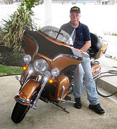 Coaster Photo: Bradley Beach resident Mark Bozzo is a member of the Knights of Columbus Motorcycle Ministry.