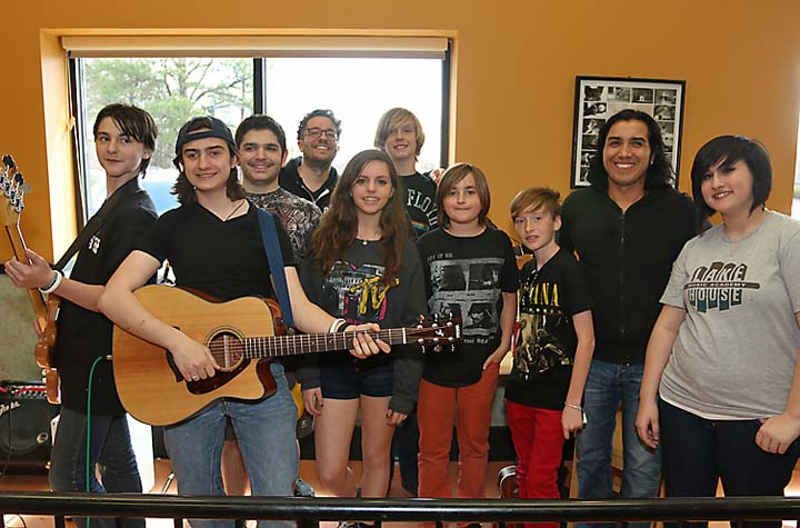 Students from the Lake House Music Academy of Asbury Park performed at Dean's Natural Food Market in Ocean Township.