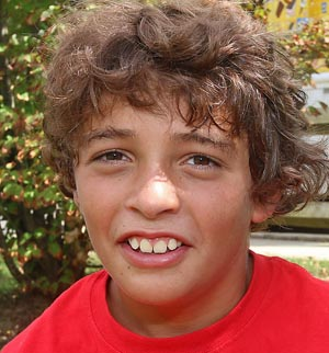Ethan Brandimarte, Ocean - I just started Ocean Junior High, the fifth grade. It was fun, but not the best. The lunch was good. My locker is next to Emily's.
